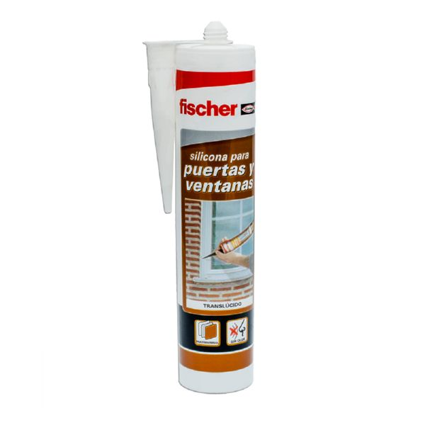 ADHESIU-SELLADOR MS FISCHER MARRÓ 310ML.