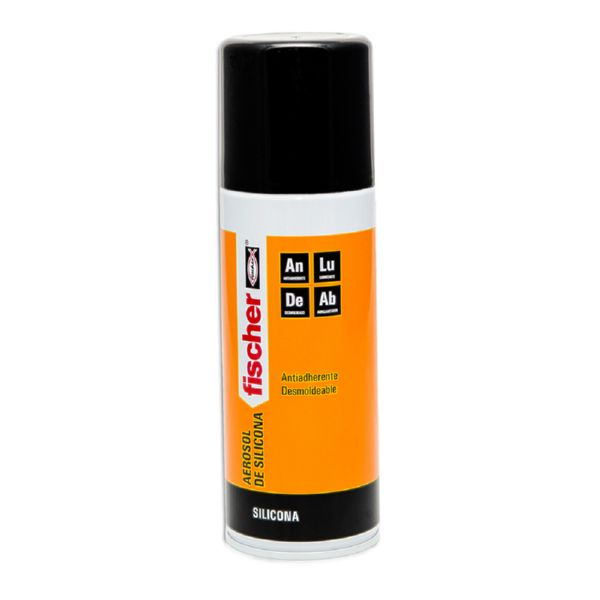 SILICONA EN SPRAY FISCHER 400 ML.