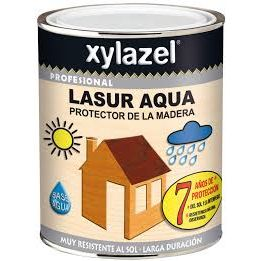 XYLAZEL AQUA LASUR MATE INCOLOR 750 ML.